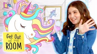UNICORN DIY Room Makeover! | Get Out Of My Room | Universal Kids