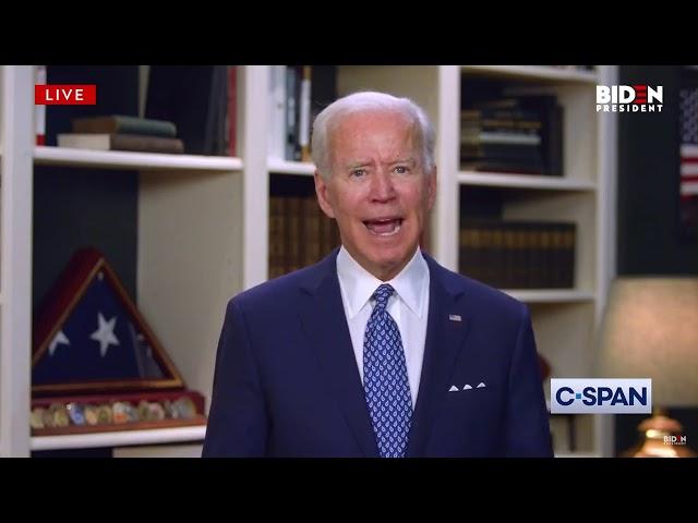 Joe Biden on George Floyd's death