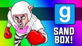 Gmod: Piggy Balboa - Super Weenie Fight Club (Garry's Mod Sandbox Funny Moments)