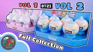 Mở trọn bộ BT21 Universtar Vol 1 và Vol 2 tìm thấy luôn Secret Item cực hiếm ToyStation 415