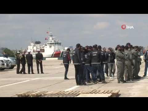 İzmir'de dev operasyon! Ele geçirilen 5 ton uyuşturucu İzmir'e getirildi