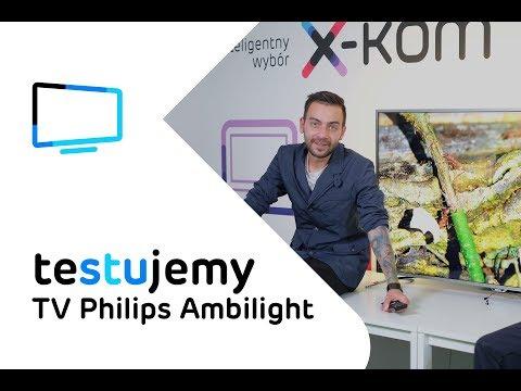 Telewizor Smart TV 4K Philips 55PUS6561 z funkcją Ambilight | Test i recenzja
