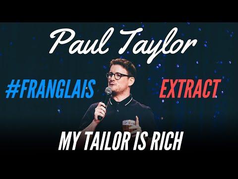 Paul Taylor – Francouzi mají strašnou angličtinu