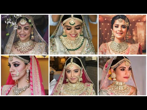 Bridal jewellery | Bridal jewellery collection 2019 | Latest bridal jewellery 2019 - Fashion Friendl