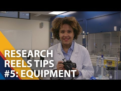 Research Reels Tips - Equipment - 5 of 5