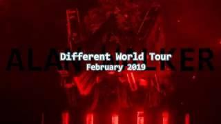 Alan Walker - Different World Tour: February 2019 (Trailer)