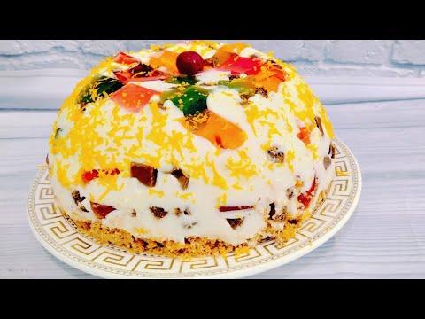"Торт без выпечки /""Сиська"" или ""Битое стекло""/ десерт без выпечки"