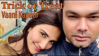 Trick or Treat with Vaani Kapoor | Aasif Ahmed | Edinburgh Vlog