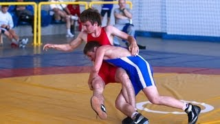 preview picture of video 'National Poland Youth Olympic Games Wrestling Freestyle Reg. Elimination Myslenice may 2013 Part 2'