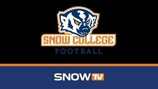 Snow College Football: Snow vs. Scottsdale CC 9-22-2018