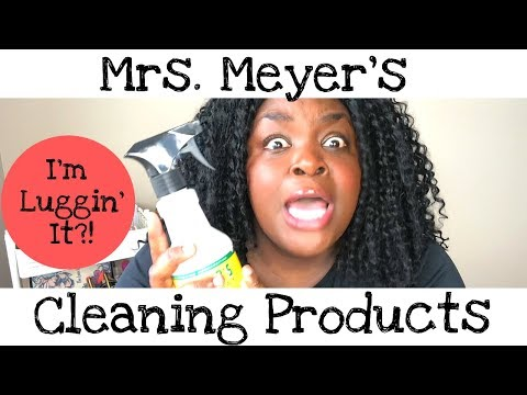 MRS. MEYER'S CLEANING PRODUCT REVIEW