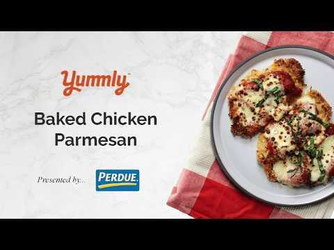 Easy Baked Chicken Parmesan Recipe