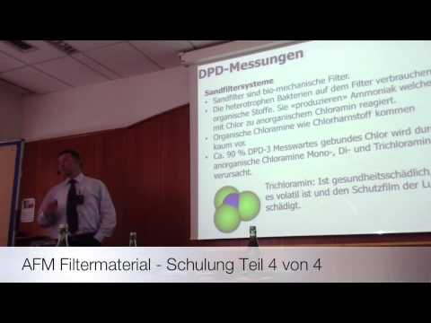 PUMO Pool - AFM Filtermaterial Schulung Teil 4 von 4