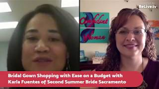 Bridal Gown Shopping with Ease on a Budget with Second Summer Bride