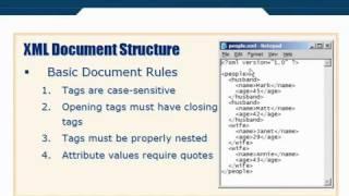 XML Tutorial   14 XML Document Structure