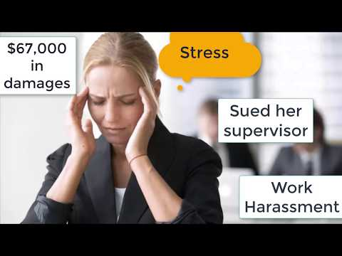 can you sue your employer for harassment and emotional distress