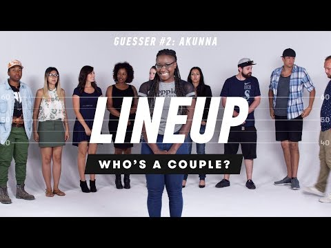 Akunna Guesses Who's a Couple from a Group of Strangers
