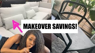 I SAVED BIG! SHOP WITH ME IKEA * MINIMALIST DIY LIVING ROOM MAKEOVER!