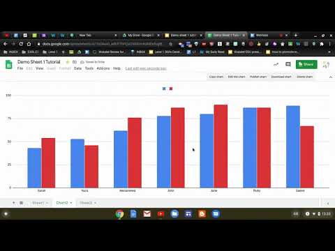 Certification Level 1 Google Sheets Tutorial - YouTube