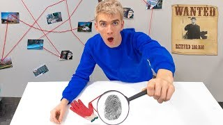 Finding GAME MASTER Real Identity!! (Fingerprint Mystery Evidence Discovered)