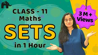 Sets   CBSE Class 11 Maths Chapter 1   Complete Lesson in ONE Video