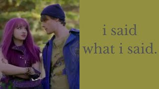 the biggest problem with descendants: the main character is very unlikable.