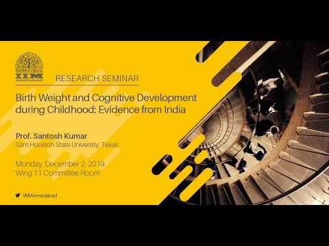 Birth Weight and Cognitive Development during Childhood