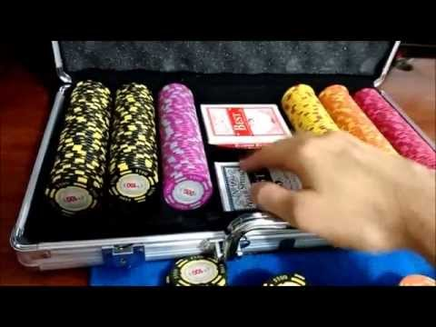 Unboxing fichas de poker Casino Royale