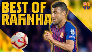 The MOST PERFECT MOMENTS of RAFINHA with BARÇA ✨