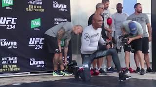 UFC 234 Open Workout: Anderson Silva Highlights
