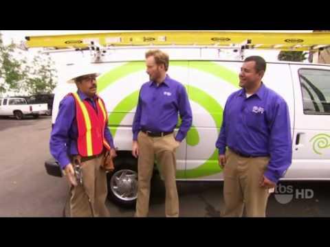 Conan technikem kabelové televize