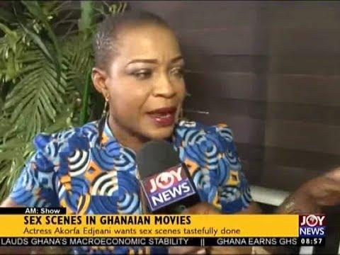 Sex Scenes in Ghanaian Movies - AM Showbiz on JoyNews (18-9-17)