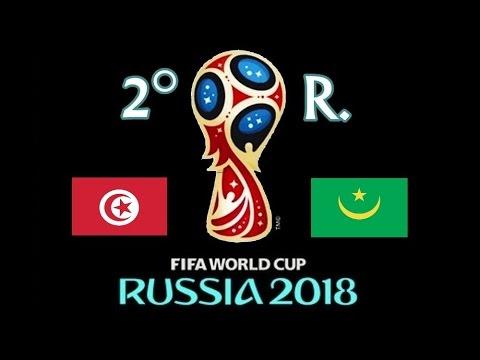 TUNEZ v. MAURITANIA - CAF 2018 FIFA World Cup - 2° RONDA