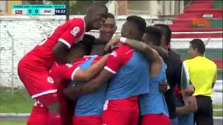 Cortuluá Vs Cúcuta (1-0) | Torneo Aguila 2018 | Cuadrangulares Fecha 5