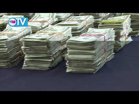 Policía Nacional incautó dinero al narcotráfico en Chinandega