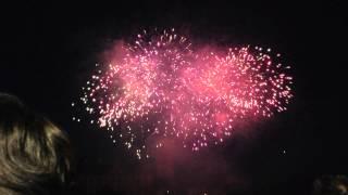 preview picture of video 'Volksfest Feuerwerk 2013 Aschaffenburg - Anfang'