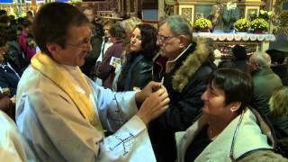 Obory. Ceremonia przyjęcia do Szkaplerza Matki Bożej z Góry Karmel. 17. października 2015 r.