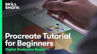 Procreate Tutorial - Digital Illustration Basics