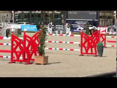 Gilles Nuytens & Jade S CSIOJ 1st round Sentower 2019