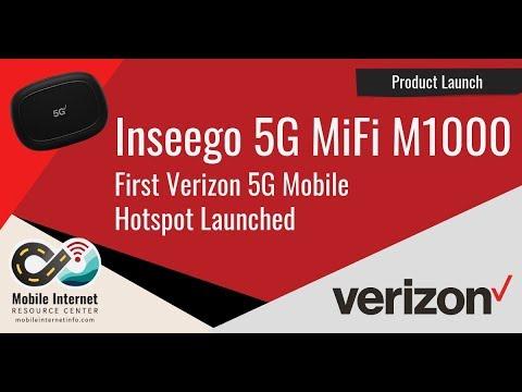 Verizon's First 5G Mobile Hotspot – Inseego 5G MiFi M1000