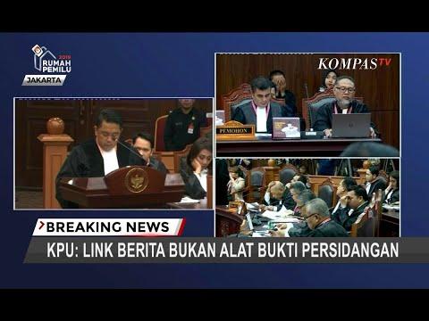 KPU: Link Berita Bukan Alat Bukti Persidangan