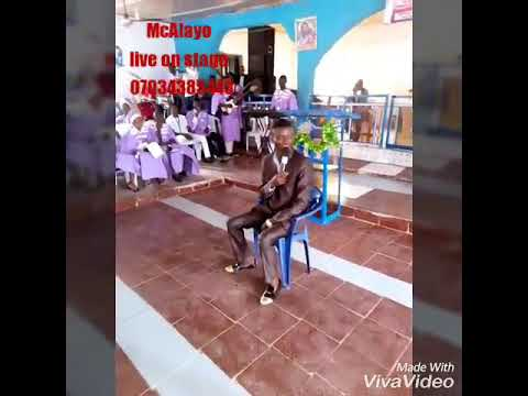 McAlayoComedy. Mimicking Yinka Ayefele live on stage