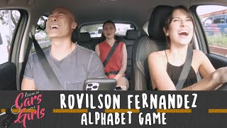 Alphabet Game with Rovilson Fernandez, Bianca King, and Sambie Rodriguez | Riding in Cars with Girls