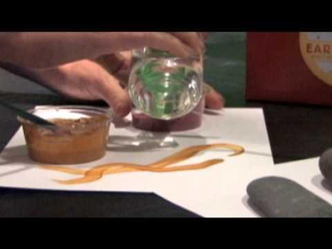 Vorschau: Mineralische Farben zum individuellem An mischen