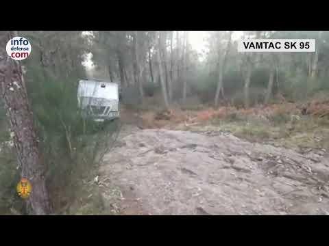 El GACA VII prueba el nuevo Vamtac SK 95 de Urovesa