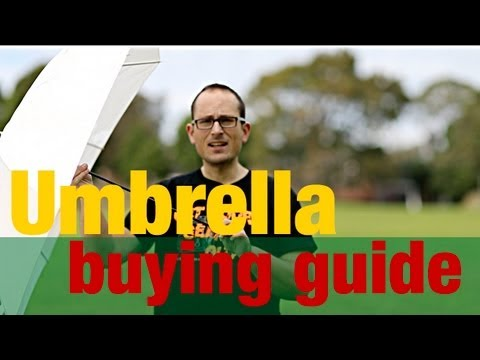 Umbrella buying guide