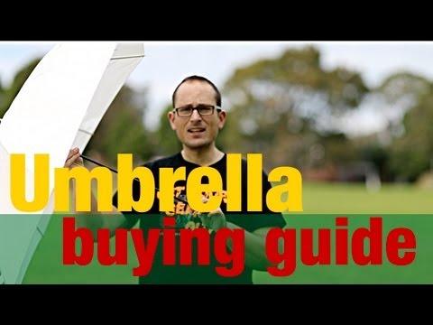 Umbrella buying guide