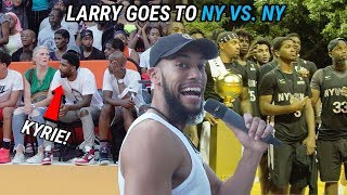 We Were At RUCKER With Kyrie Irving & Tekashi 6ix9ine! Cole Anthony Goes For NYC TITLE 😱
