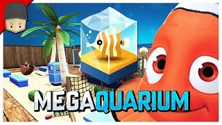 Megaquarium - LETS BUILD A HUGE AQUARIUM!