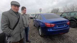 Купили Новую ЛАДУ ВЕСТА 2020 в комплектации WINTER